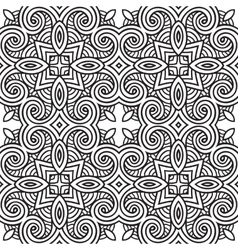 decorative modern geometric seamless pattern vector image