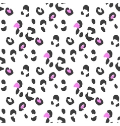 Leopard or cheetah seamless skin pattern vector