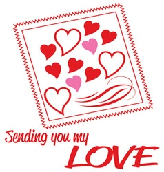 Sending My Love vector