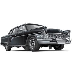 Soviet luxury car vector image