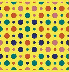 Vintage pattern bohemian delight color vector