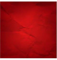 vintage red paper vector image