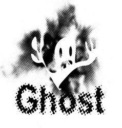 ghost1 vector image