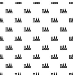 power plant pattern vector image