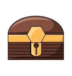 treasure chest box design vector image