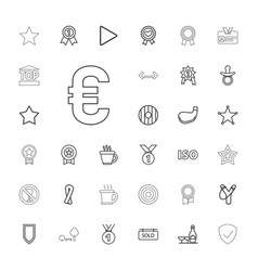 33 badge icons vector