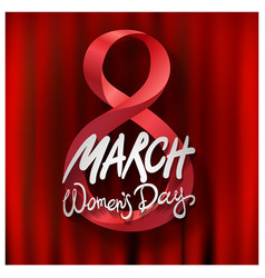 8 march international womens day design with vector