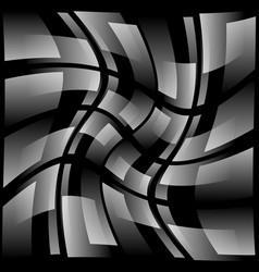 Abstract grid mesh background with rotating vector