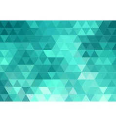 abstract teal geometric background vector image