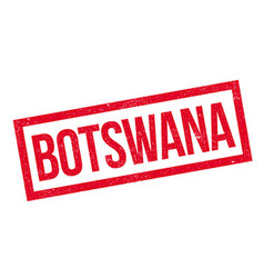 Botswana rubber stamp vector