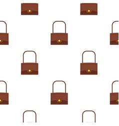 little bag pattern seamless vector image