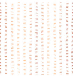 rose gold foil stripes seamless pattern vector image