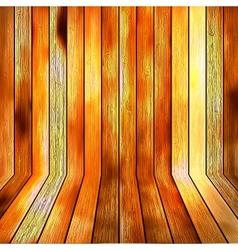 Background wooden floor boards EPS10 vector image vector image