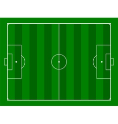 footbal or soccer field background vector image vector image
