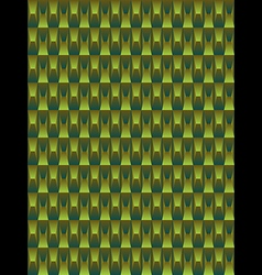 Green texture geometric seamless background vector image vector image