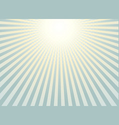 abstract sunburst background vintage of halftone vector image