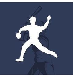 baseball related icons image vector image