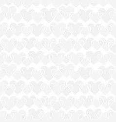 beautiful seamless pattern with white silver grey vector image