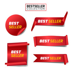 Best seller collection vector