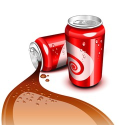 cola can vector image