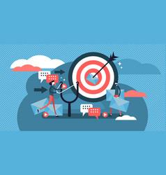 Direct marketing modern concept vector