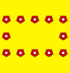 Flag of lhay-les-roses in val-de-marne in vector
