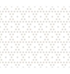 hexagonal geometric pattern subtle seamless vector image