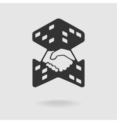 Symbol Transaction Real Estate vector image vector image