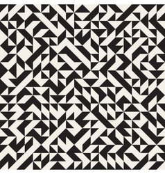 Seamless Jumble Triangles Geometric Pattern vector image