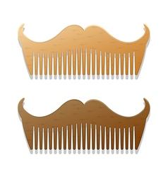 Beards plain vector image vector image