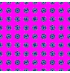 Flowers geometric seamless pattern 1910 vector image