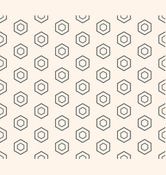honeycomb seamless pattern repeat texture vector image