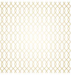 luxury golden art deco linear simple seamless vector image