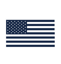 Memorial day flag national symbol american vector