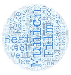 Munich DVD Review text background wordcloud vector