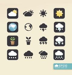 Modern weather color Design vector image vector image