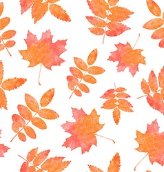Watercolor seamless pattern vector image vector image