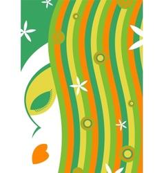 Female spa salon vector image vector image
