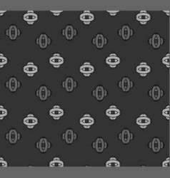 Seamless pattern with a geometric shapes vector