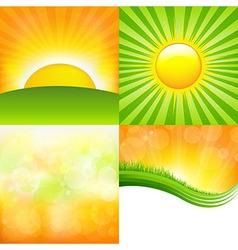 Sunrise Set vector image vector image