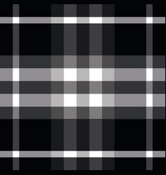 Black and white burberry seamless pattern print vector