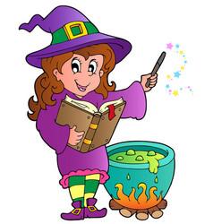 halloween character image 2 vector image