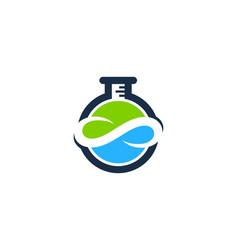 infinity science lab logo icon design vector image