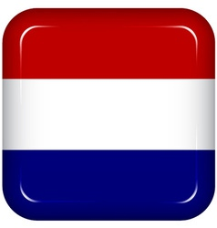 Netherlands flag vector