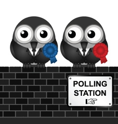 Polling Station vector