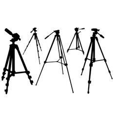 tripods vector image