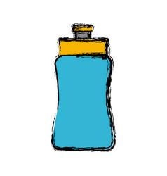 water sport bottle vector image