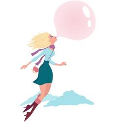 Bubble gum vector