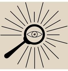 search icon vector image