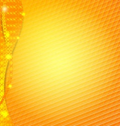 Orange abstract design background for business vector image